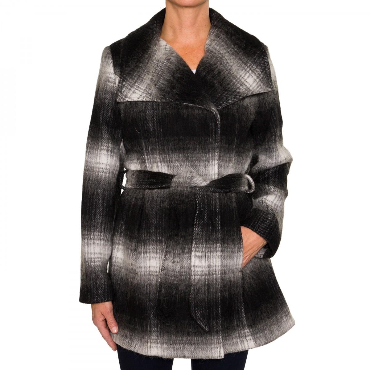 Plaid coats for women