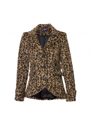 Animal Print Riding Jacket