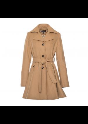 Inc. Women's Camel Trench Coat
