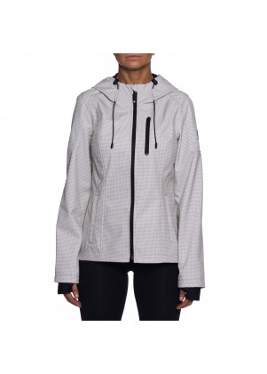 HFX Performance Patterned Rain Jacket with Hood