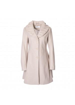 T. Tahari Abigail Wool-Blend Coat