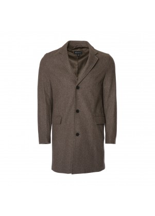 Men's 3/4 Wool-Blend Coat