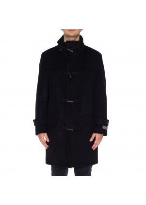 Perry Ellis Wool Blend Toggle Coat