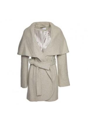 T. Tahari Marla Tweed Coat