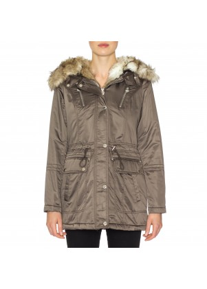 Laundry by Shelli Segal Quilted Anorak
