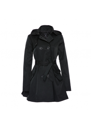 Women's Trench with Hood