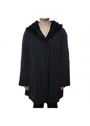 Reversible Storm Coat with Hood