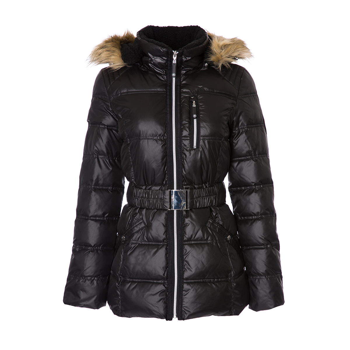 HFX Women's Hooded Puffer Jacket