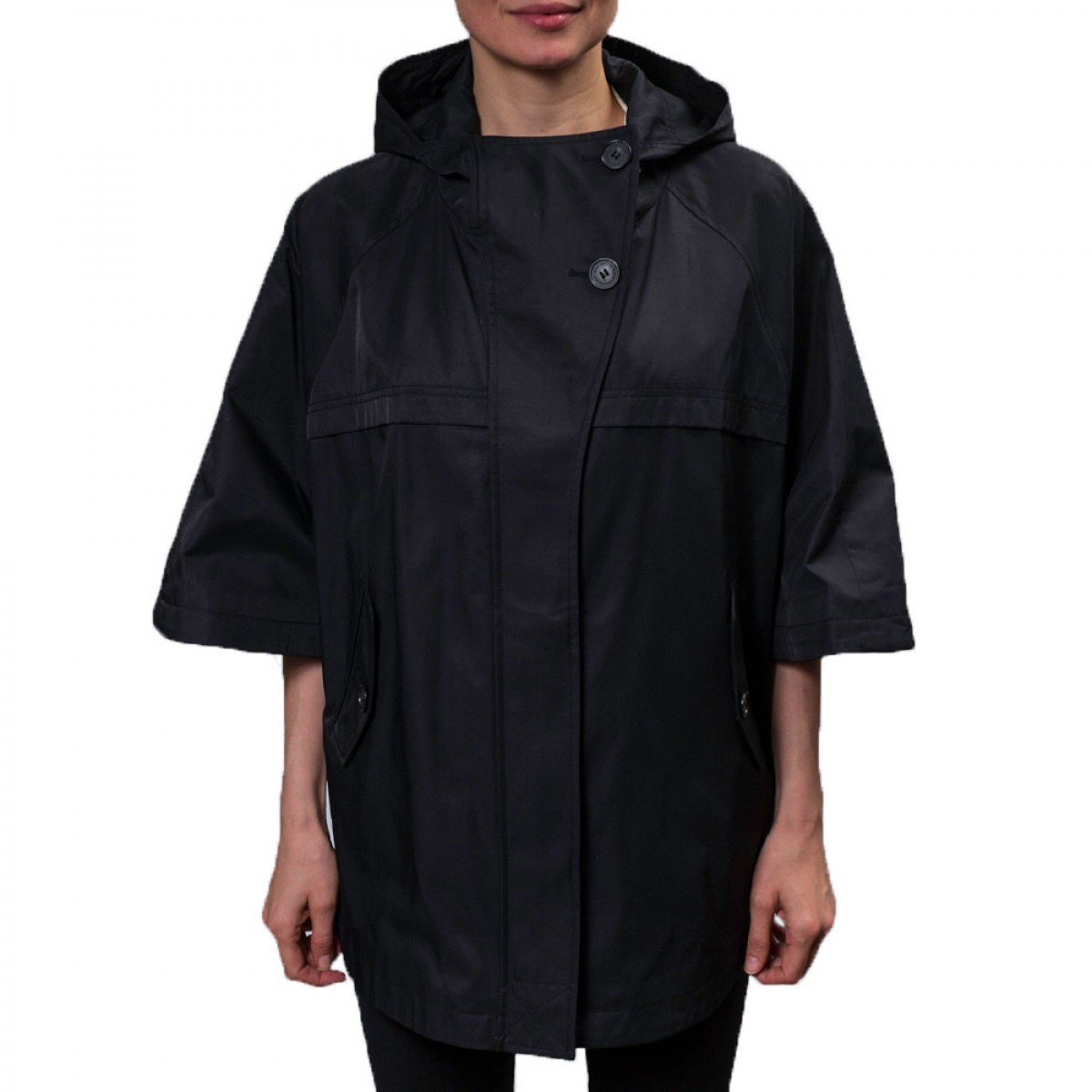 Hilary Radley Women's Hooded Cape