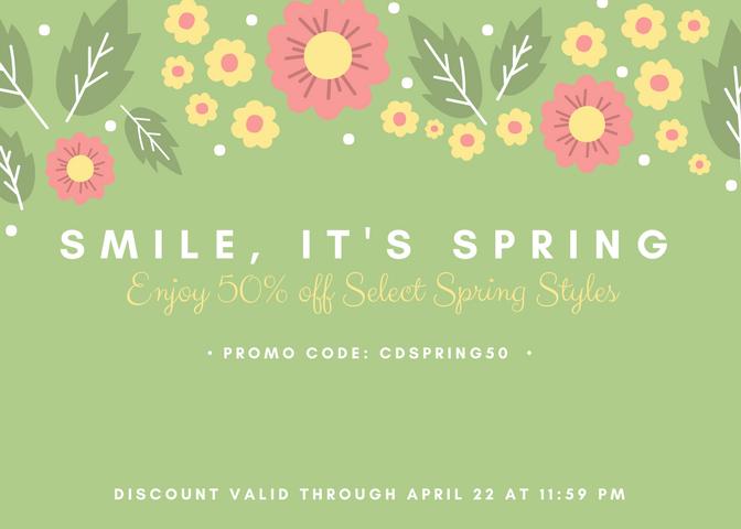 Smile, It's Spring